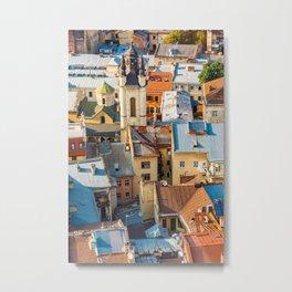 Colors of city Metal Print