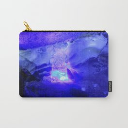 Polar grotto, Kungur Ice Cave, Russia Carry-All Pouch