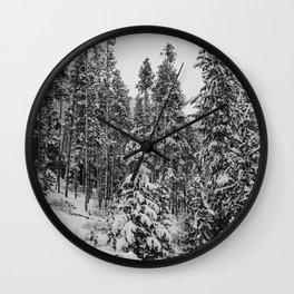 Creaking Pines Wall Clock