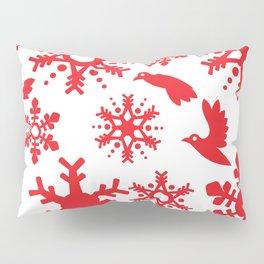 Snowbird Pattern Pillow Sham