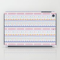 aztec iPad Cases featuring Aztec by Joanne Hawker
