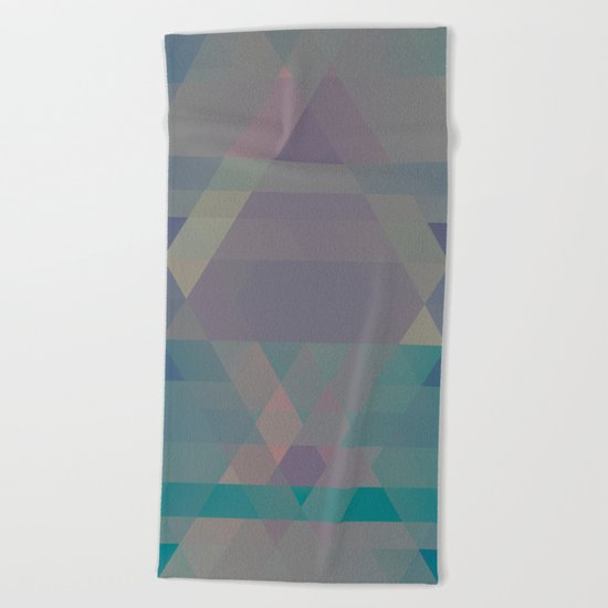 The Clearest Line VII Beach Towel
