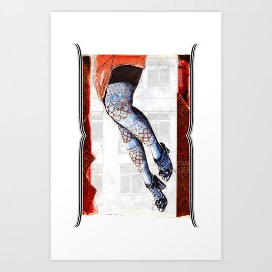 12th STREET RAG Art Print