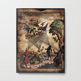 Medieval Minstrel Spirits Metal Print