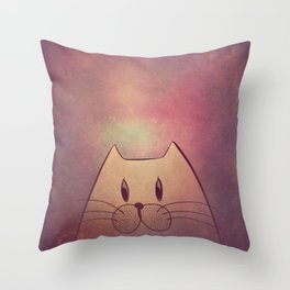 cat 580 Throw Pillow
