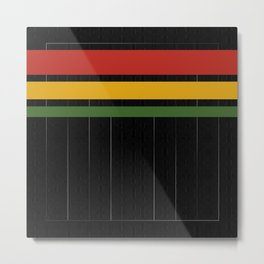 Reggae Nights Metal Print