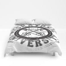 Miskatonic University Emblem (light version) Comforters
