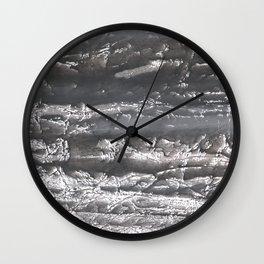 Dark marble Wall Clock