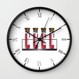 Blood Group Samples Wall Clock