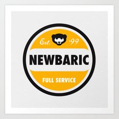 NEWBARIC SINCE '99 Art Print