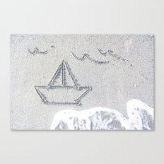Our Love Summer I Canvas Print