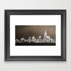 Windless at the Moment Framed Art Print