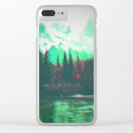 Mountain Clear iPhone Case