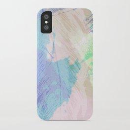 Wishy Washy Blues iPhone Case
