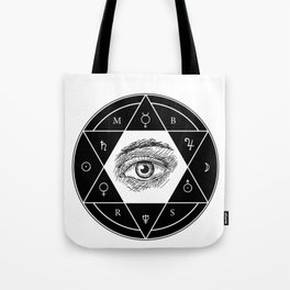 Secrets of the Great Architect Tote Bag