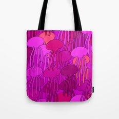 Jellyfish Pink Tote Bag