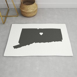 Connecticut Love in Charcoal Rug