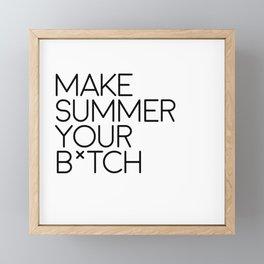 This summer Framed Mini Art Print