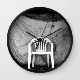 plastic overture (Padua) Wall Clock