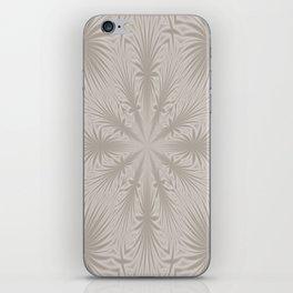 Silver Drapery iPhone Skin