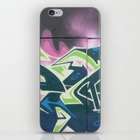 graffiti iPhone & iPod Skins featuring Graffiti by Chrissy Gensch