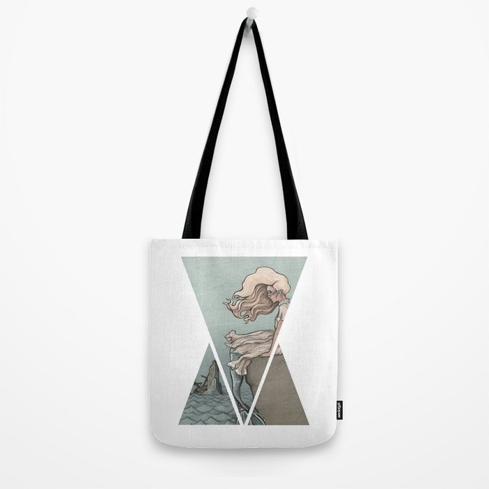 Evolution of a Mermaid Tote Bag