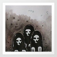 coven Art Prints featuring Coven by slakjawdyokel