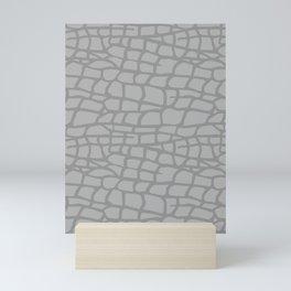 Gray Elephant Skin - Wild Animal Mini Art Print