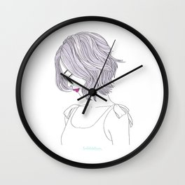 LILAHAIR Wall Clock