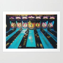 Skee Ball print Art Print