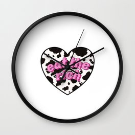 eat the rich! <3 Wall Clock