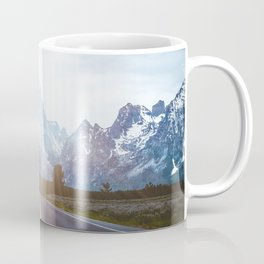 Mountain Road - Grand Tetons Nature Landscape Photography Coffee Mug