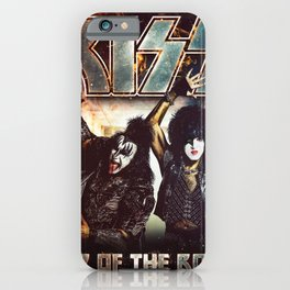 KISS BAND TOUR 2020 BERSINARRR#1234 iPhone Case