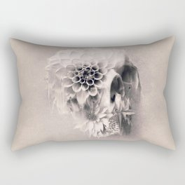 Decay Skull Light Rectangular Pillow