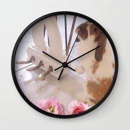 Bunny Foo Foo Wall Clock
