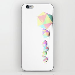 Platonics iPhone Skin