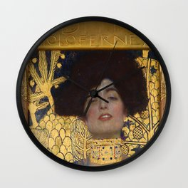 Gustav Klimt - Judith and the Head of Holofernes Wall Clock