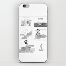 An Unfortunate Outing - Frames iPhone Skin