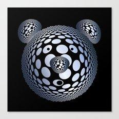 Bubble Bear Canvas Print
