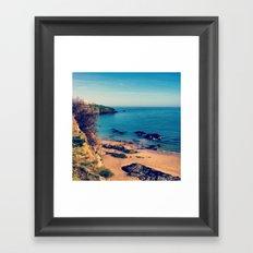 Ripples Of The Ocean Framed Art Print