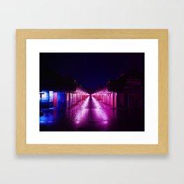 Shibuya Night Framed Art Print