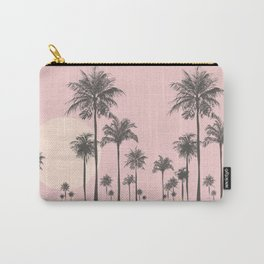 Tropical Sunset In Peach Coral Pastel Colors Carry-All Pouch