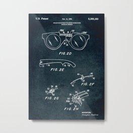 1994 - Sealed adjustable polarized sunglasses Metal Print