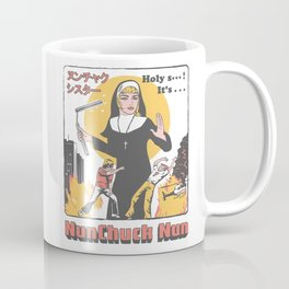 Nunchuck Nun Coffee Mug