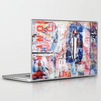 chicago bulls Laptop & iPad Skins featuring Bulls Eye by Denzel Boyd
