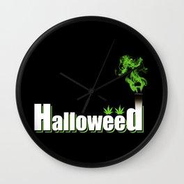 HalloWeed Wall Clock