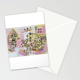 Progress is a Labyrinth Stationery Cards