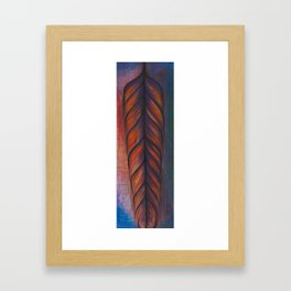 Feather Tribe Framed Art Print