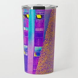 Radio City Music Hall with Holiday Tree, New York City, New York Travel Mug