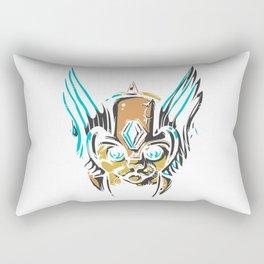 Valkyrie Cat Rectangular Pillow
